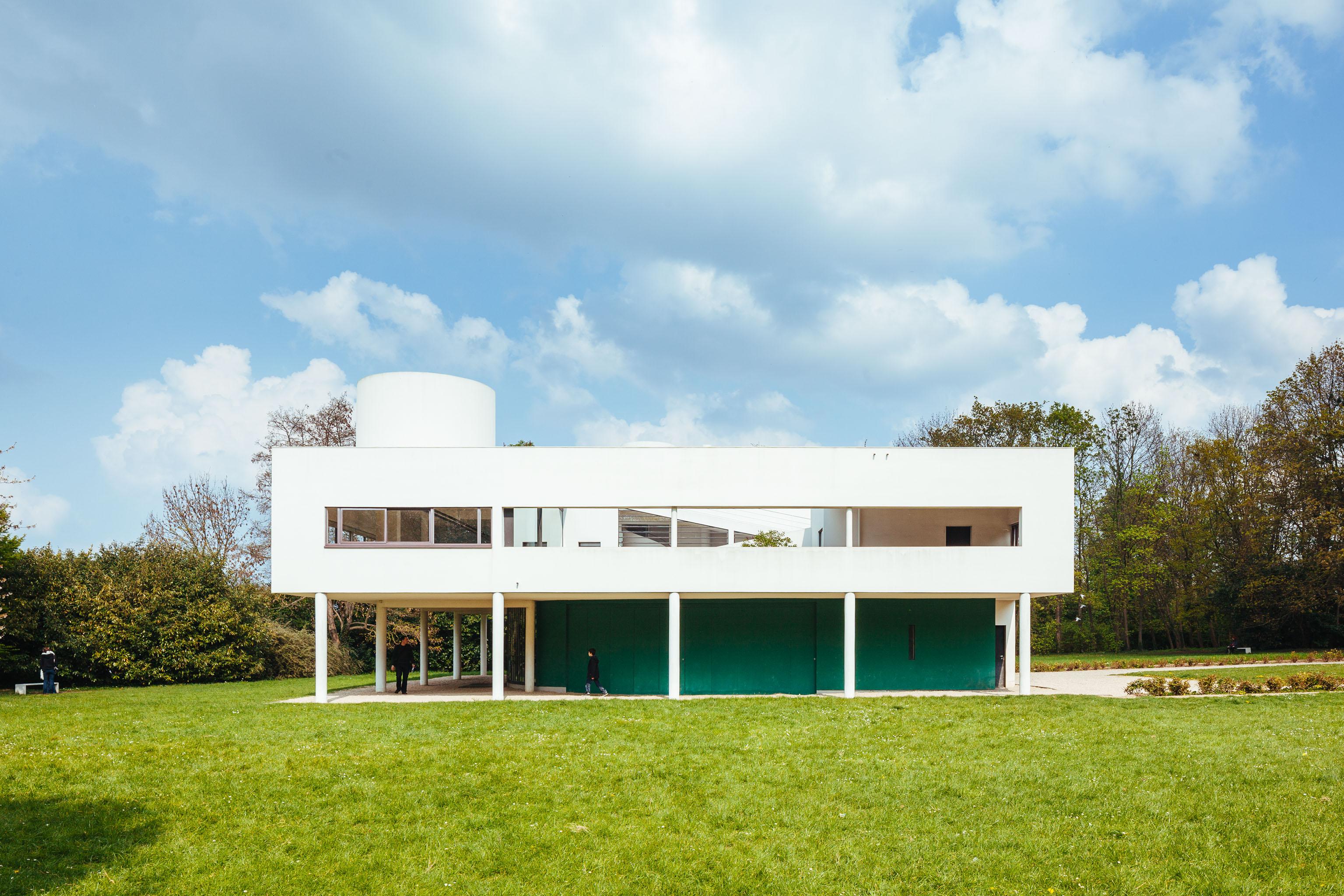 villa savoye in poissy france pedro kok. Black Bedroom Furniture Sets. Home Design Ideas